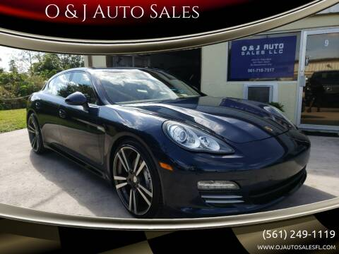 2011 Porsche Panamera for sale at O & J Auto Sales in Royal Palm Beach FL