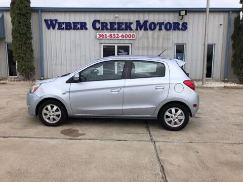 2015 Mitsubishi Mirage for sale at Weber Creek Motors in Corpus Christi TX