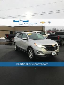 2018 Chevrolet Equinox for sale at Tradition Chevrolet Buick in Geneva NY