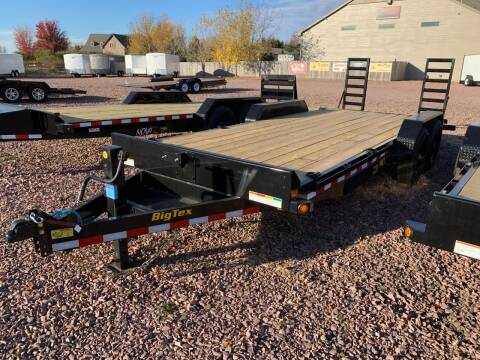 2021 Big Tex 14ET-20 Knee Ramps #9003