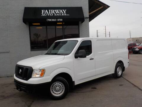 2017 Nissan NV Cargo for sale at FAIRWAY AUTO SALES, INC. in Melrose Park IL