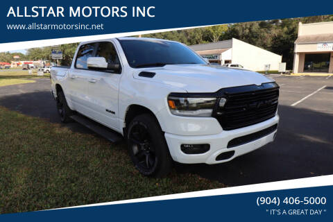 2020 RAM Ram Pickup 1500 for sale at ALLSTAR MOTORS INC in Middleburg FL