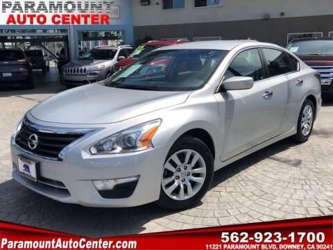 2015 Nissan Altima for sale at PARAMOUNT AUTO CENTER in Downey CA