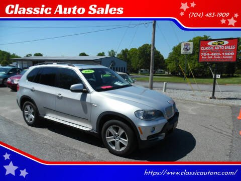 2008 BMW X5 for sale at Classic Auto Sales in Maiden NC