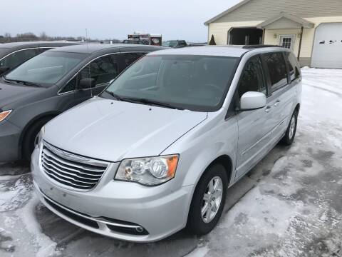 2012 Chrysler Town and Country for sale at RJD Enterprize Auto Sales in Scotia NY