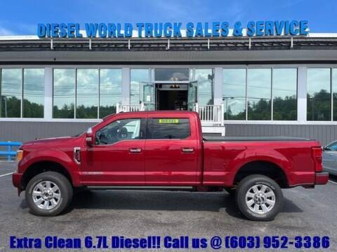 2018 Ford F-350 Super Duty for sale at Diesel World Truck Sales in Plaistow NH