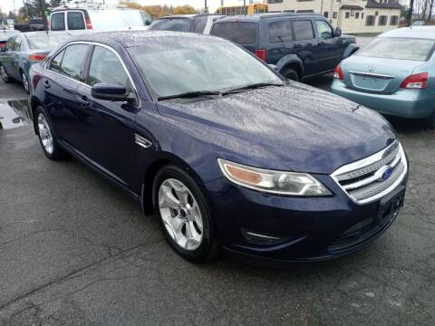 2011 Ford Taurus for sale at Peter Kay Auto Sales in Alden NY