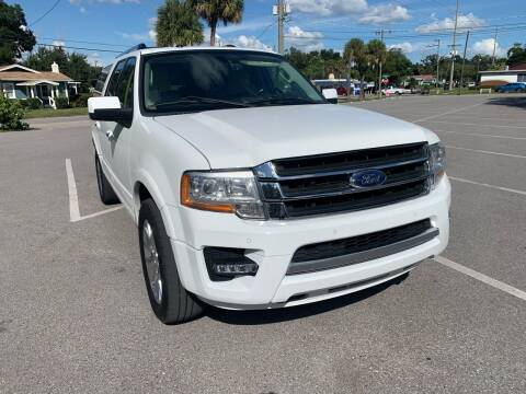 2017 Ford Expedition EL for sale at Consumer Auto Credit in Tampa FL
