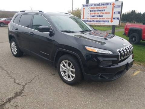 2014 Jeep Cherokee for sale at Sensible Sales & Leasing in Fredonia NY
