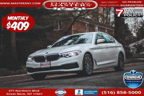 2020 BMW 5 Series for sale at European Masters in Great Neck NY