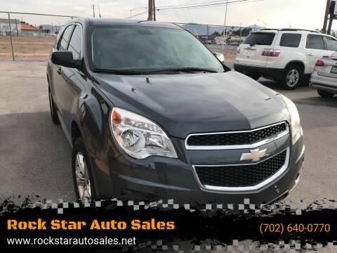 2011 Chevrolet Equinox for sale at Rock Star Auto Sales in Las Vegas NV