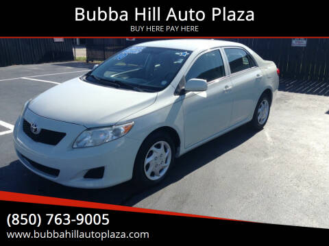 2010 Toyota Corolla for sale at Bubba Hill Auto Plaza in Panama City FL