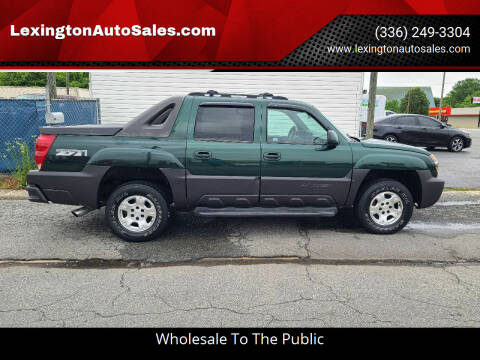 2003 Chevrolet Avalanche for sale at LexingtonAutoSales.com in Lexington NC