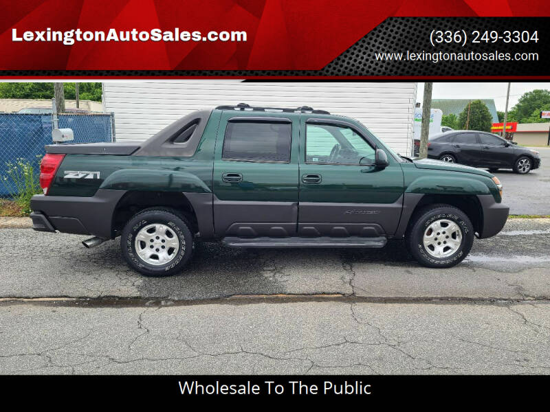 2003 Chevrolet Avalanche for sale at LexingtonAutoSales.com in Lexington NC
