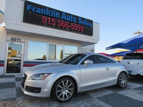 2008 Audi TT for sale at Franklin Auto Sales in El Paso TX