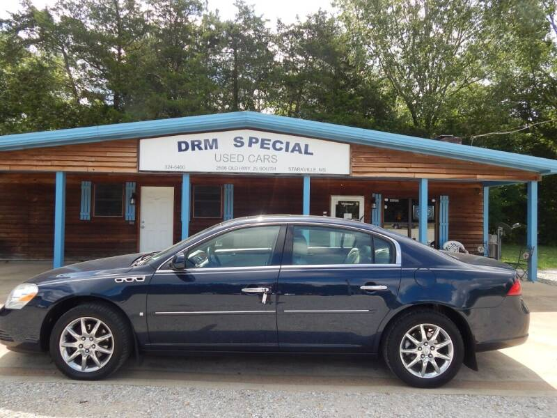 2007 Buick Lucerne for sale at DRM Special Used Cars in Starkville MS