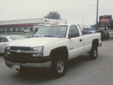 2003 Chevrolet Silverado 2500HD for sale at Midway Auto Sales in Rochester MN