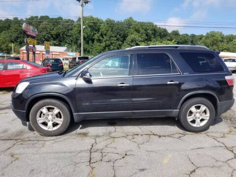 2009 GMC Acadia for sale at DREWS AUTO SALES INTERNATIONAL BROKERAGE in Atlanta GA