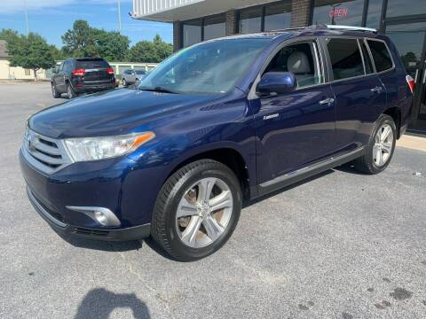 2012 Toyota Highlander for sale at East Carolina Auto Exchange in Greenville NC