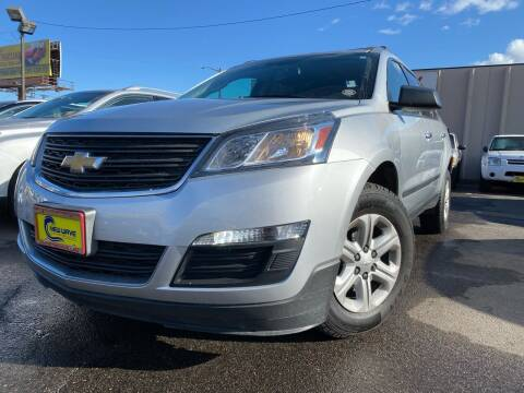 2015 Chevrolet Traverse for sale at New Wave Auto Brokers & Sales in Denver CO