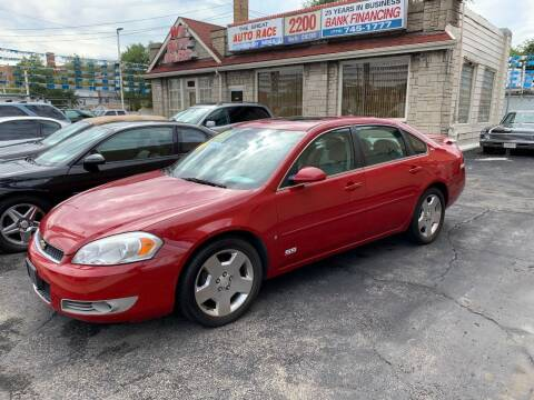 2008 Chevrolet Impala for sale at GREAT AUTO RACE in Chicago IL
