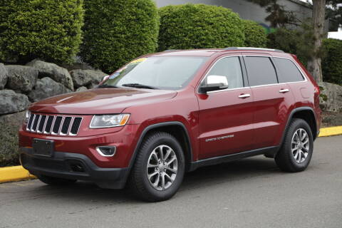 2014 Jeep Grand Cherokee for sale at SS MOTORS LLC in Edmonds WA