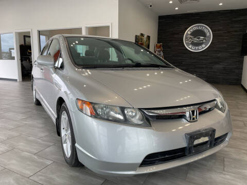 2008 Honda Civic for sale at Evolution Autos in Whiteland IN