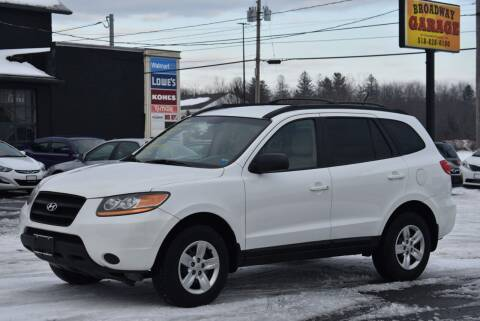2009 Hyundai Santa Fe for sale at Broadway Garage of Columbia County Inc. in Hudson NY