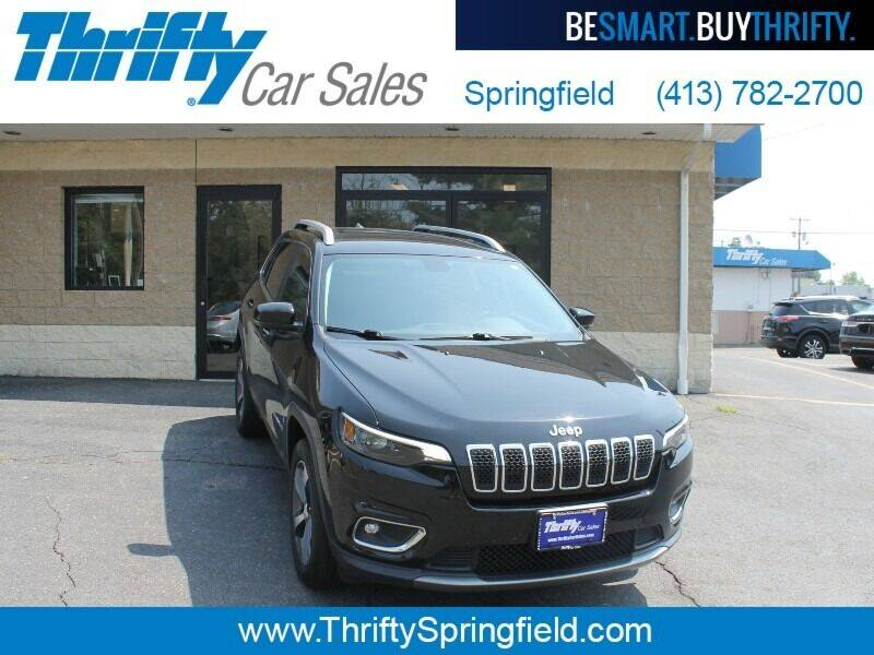 2019 Jeep Cherokee for sale at Thrifty Car Sales Springfield in Springfield MA