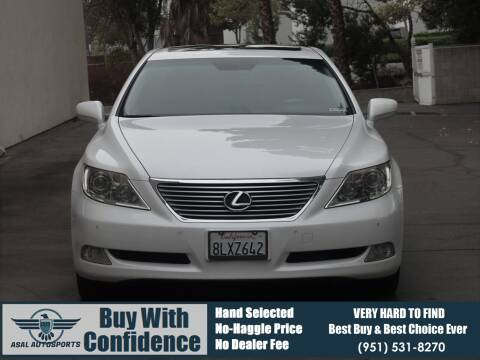 2007 Lexus LS 460 for sale at ASAL AUTOSPORTS in Corona CA