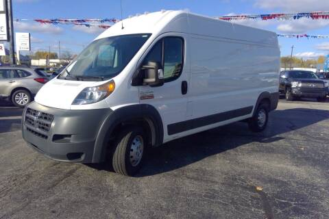 2017 RAM ProMaster Cargo for sale at Premier Auto Sales Inc. in Big Rapids MI
