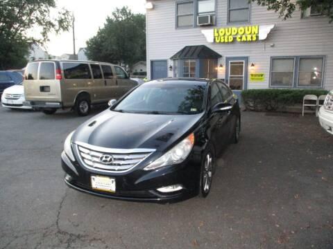 2013 Hyundai Sonata for sale at Loudoun Used Cars in Leesburg VA