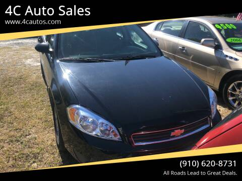 2010 Chevrolet Impala for sale at 4C Auto Sales in Wilmington NC