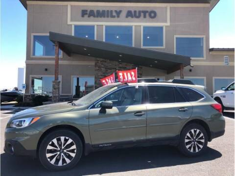 2016 Subaru Outback for sale at Moses Lake Family Auto Center in Moses Lake WA