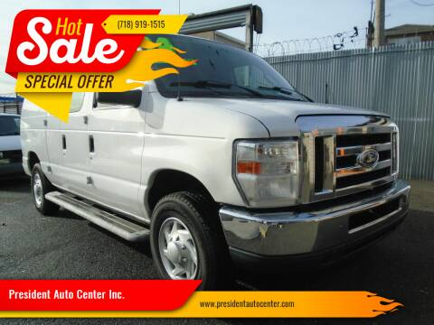 2014 Ford E-Series Cargo for sale at President Auto Center Inc. in Brooklyn NY