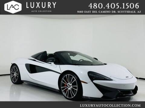 2018 McLaren 570S Spider for sale at Luxury Auto Collection in Scottsdale AZ