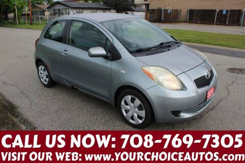 2007 Toyota Yaris for sale at Your Choice Autos in Posen IL