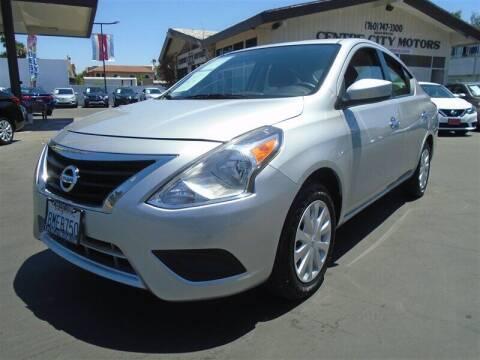 2019 Nissan Versa for sale at Centre City Motors in Escondido CA