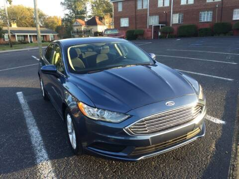 2018 Ford Fusion for sale at DEALS ON WHEELS in Moulton AL