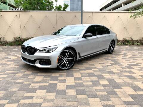 2016 BMW 7 Series for sale at ROGERS MOTORCARS in Houston TX