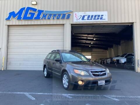 2009 Subaru Outback for sale at MGI Motors in Sacramento CA