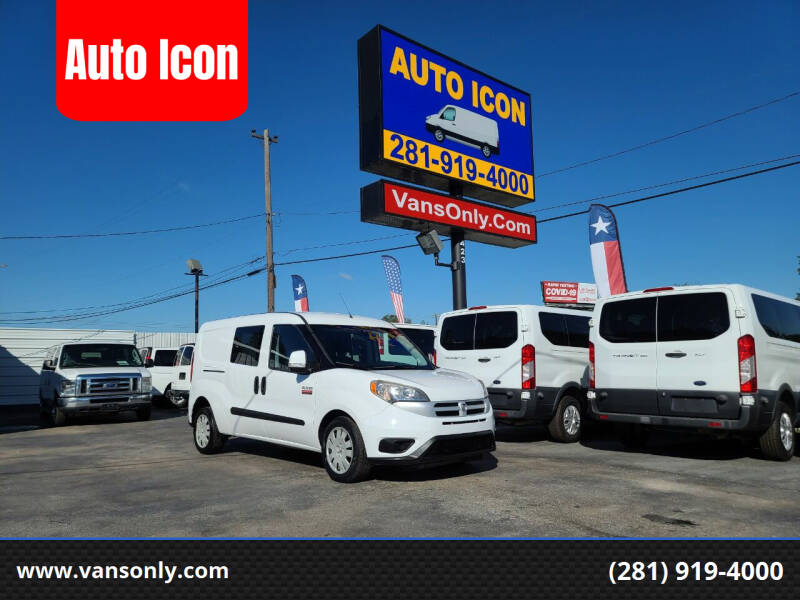 2016 RAM ProMaster City Cargo for sale at Auto Icon in Houston TX