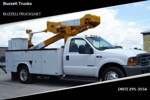 2000 Ford F-550 Super Duty for sale at buzzell Truck & Equipment in Orlando FL
