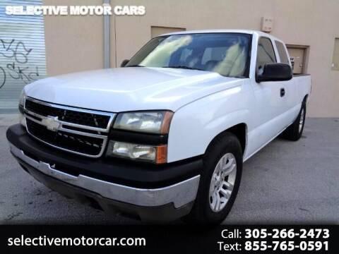 2007 Chevrolet Silverado 1500 Classic for sale at Selective Motor Cars in Miami FL