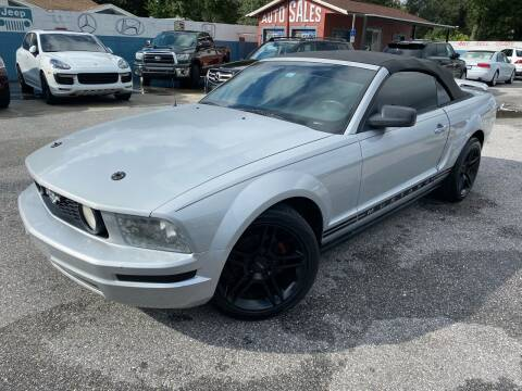 2005 Ford Mustang for sale at CHECK  AUTO INC. in Tampa FL