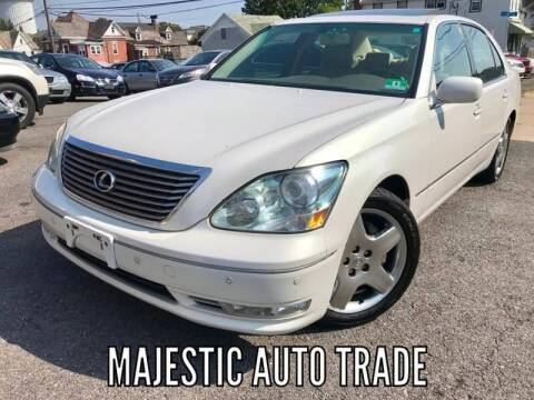 2005 Lexus LS 430 for sale at Majestic Auto Trade in Easton PA
