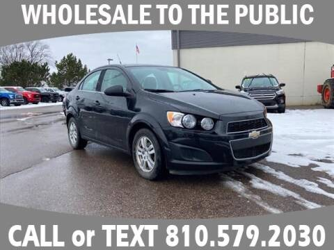 2013 Chevrolet Sonic for sale at Lasco of Grand Blanc in Grand Blanc MI
