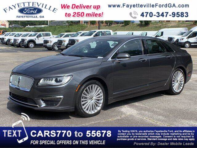 2017 Lincoln MKZ for sale in Fayetteville, GA