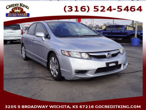 2009 Honda Civic for sale at Credit King Auto Sales in Wichita KS