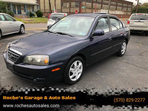 2005 Hyundai Elantra for sale at Roche's Garage & Auto Sales in Wilkes-Barre PA